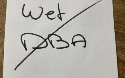 Zelfs de handhaving wet DBA in de ijskast….
